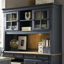 Jr Executive Credenza Desk Hutch