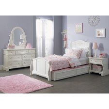 Storage Sleigh Customizable Bedroom Set