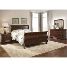 Carriage Court Sleigh Customizable Bedroom Set