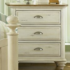 Ocean Isle 3 Drawer Bachelor's Chest