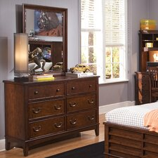 Chelsea Square Youth Bedroom Double Dresser