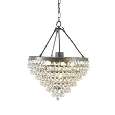 Eleanor Lake 5 Light Crystal Chandelier