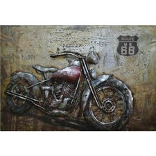 Motorcycle Moments Painting