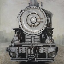 Steam Engine Painting