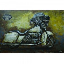Ride With Me I Graphic Art on Metal
