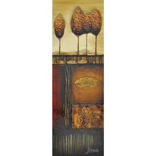 Revealed Art Sure Foundation II Original Painting on Wrapped Canvas