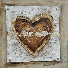 Revealed Art The Healing Heart II Original Painting on Canvas