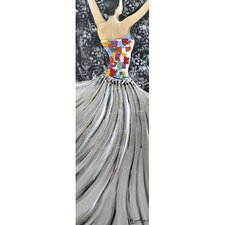 Revealed Art Garden Ballet II Original Painting on Wrapped Canvas