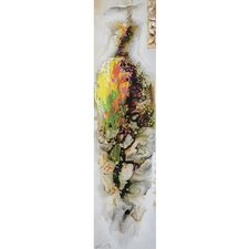 New Revealed Art Mademoiselle I Original Painting on Wrapped Canvas