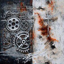 New Revealed Art Precision Original Painting on Wrapped Canvas
