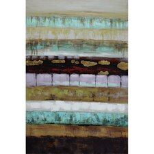 Revealed Artwork Layers II Painting Print on Wrapped Canvas