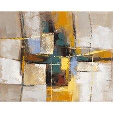 Revealed Artwork Exuberant Original Painting on Wrapped Canvas