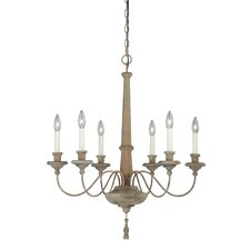 Lucca 6 Light Candle Chandelier