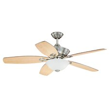 "52"" April 5 Blade Ceiling Fan with Remote"
