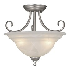 Babylon 3 Light Semi Flush Mount