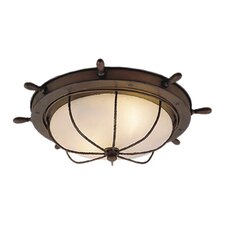 Nautical 2 Light Flush Mount