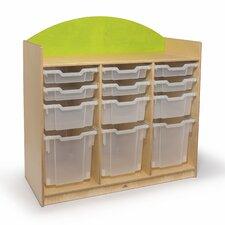 Rainbow Tray Storage Cabinet