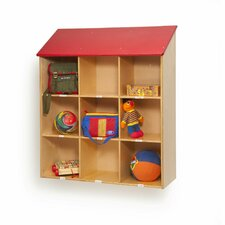 Wall 9 Compartment Cubby
