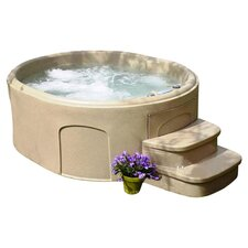 4 Person 20 Jet Luna DLX Plug & Play Spa