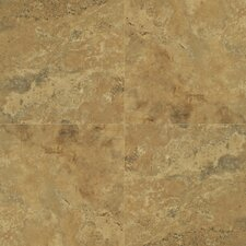 "Quadra Natural Stone 16"" x 16"" x 8mm Tile Laminate in Sandy Beige Tiles"
