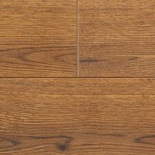 "Revolutions™ Plank 5"" x 51"" x 8mm Ontario Oak Laminate in Gunstock"