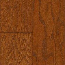 """Madison Plank 5"""" Oak Hardwood Flooring in Gunstock"""