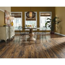 "Restoration™ Wide Plank 8"" x 51"" x 12mm Teak Laminate in Cocoa"