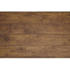 "Restoration™ Wide Plank 8"" x 51"" x 12mm Woodland Maple Laminate in Fawn"