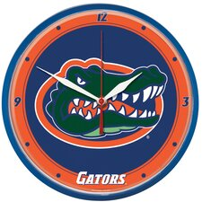 "Collegiate 12.75"" Round Clock - University of Florida"