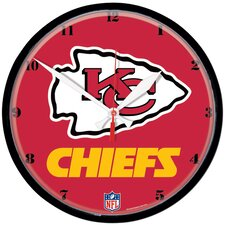 "NFL 12.75"" Wall Clock"