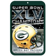 NFL Green Bay Packers Locker Graphic Art Plaque