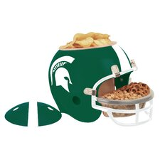 NCAA Snack Helmet Chip & Dip Tray II