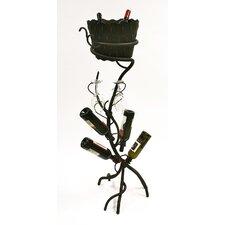 ArtDeco 4 Bottle Wine Rack