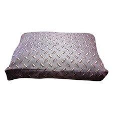 Rectangle Diamond Plate Dog Pillow