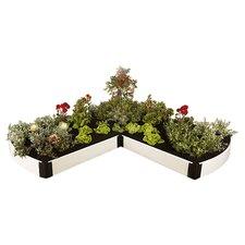 Classic White Novelty Raised Garden