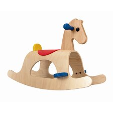 Large Scale Palomino Rocking Horse