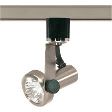 1 Light MR16 120V Gimbal Ring Track Head in Brushed Nickel