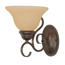 Castillo  1 Light Wall Sconce