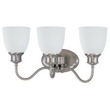 BellaVanity Light in Brushed Nickel