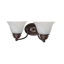 Empire Vanity Light in Old Bronze