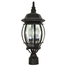 Central 3 Light Post Lantern