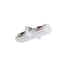 Mini Straight Track Light Connector in White (Set of 3)