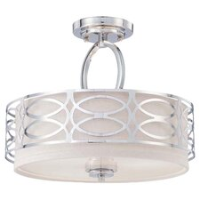 Vivian 3 Light Semi Flush Mount