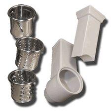 5 Piece Shredder/Slicer Attachment Kit