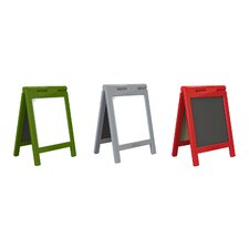 Mini Message Free Standing Chalkboard, 1' x 1' (Set of 3)
