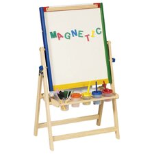 4-In-1 Flipping Floor Easel