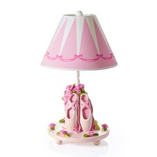 "19"" H Ballet Bouquet Lamp with Empire Shade"