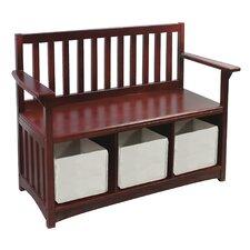 Classic Wooden Storage Bench