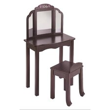 Personalized Furniture Vanity Set with Mirror
