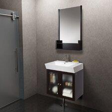 "26"" Single Bathroom Vanity Set with Mirror"